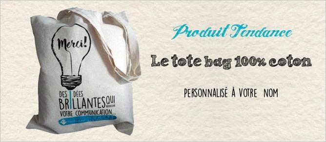 tote bag personnalisable à votre nom