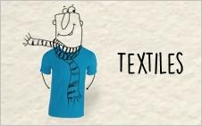 notre collection textiles